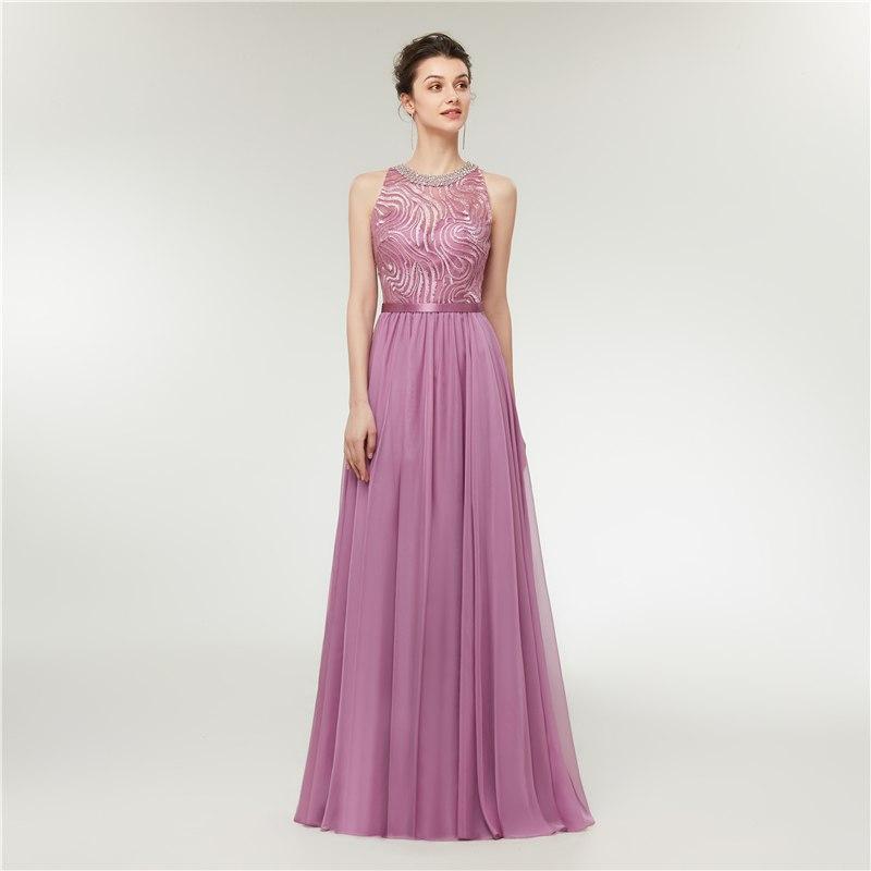 6142e0aa4077 Dlhé spoločenské šaty - veľ. 34