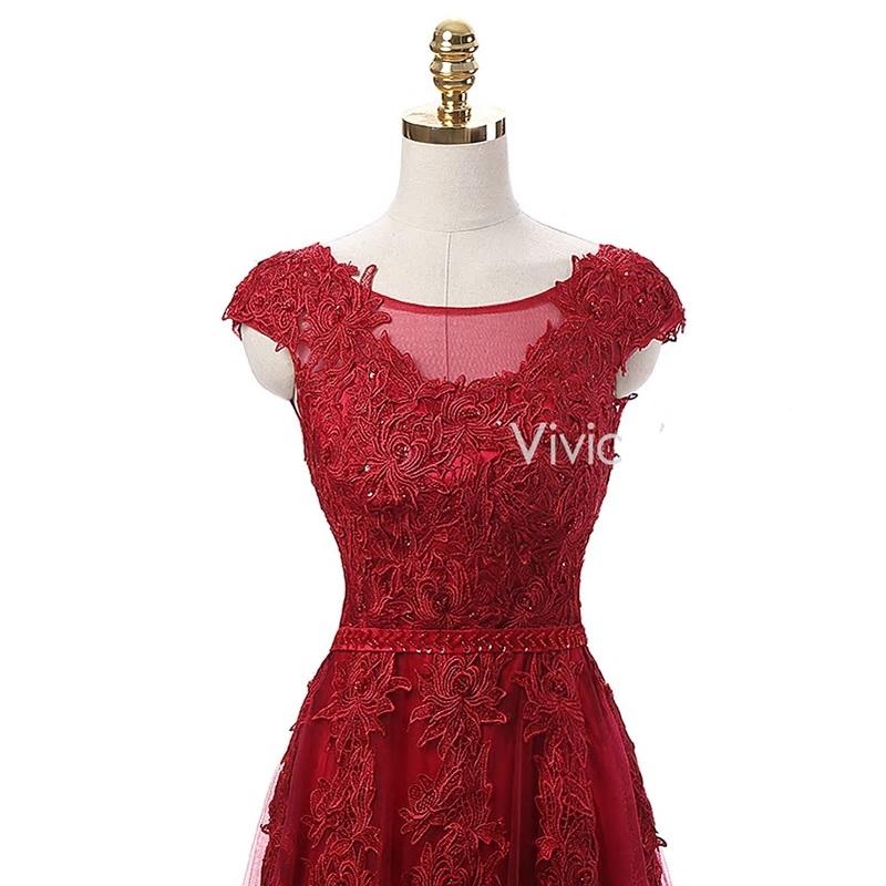 33cee250bf7e Dlhé spoločenské šaty - veľ. 36