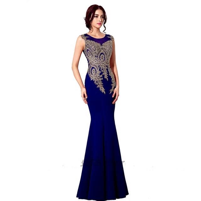 cf9e5d76267f Dlhé spoločenské šaty - veľ. 46