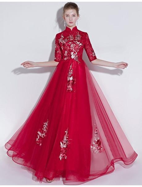 94159a40e50c Dlhé spoločenské šaty - veľ. 38