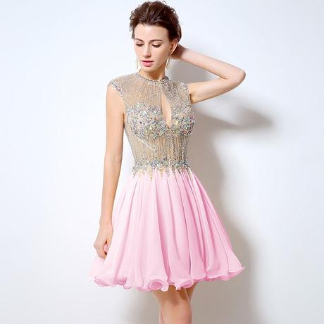 Luxusné krátke spoločenské šaty  3748db8b4b