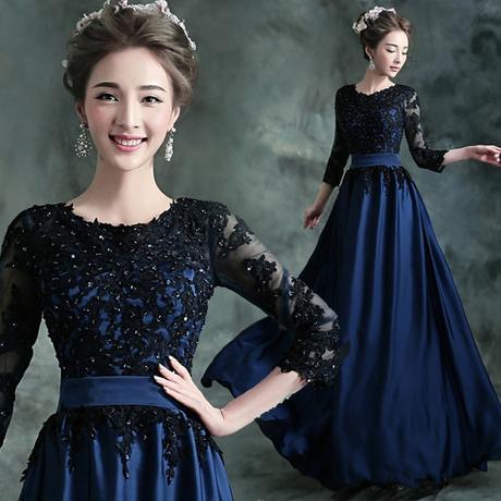 f01f7a19c54f Spoločenské šaty 0641 - veľ. 48