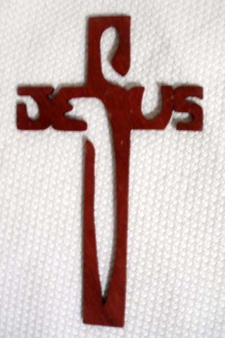 Kríž drevený,
