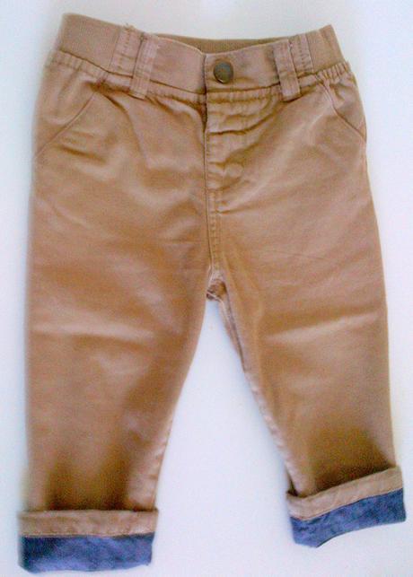 Nohavice tabakovej farby, 86