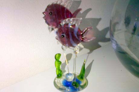 Rybky v aquáriu,