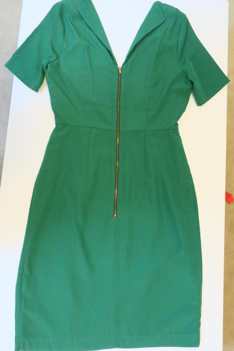 smaragdovo zelene saty H&M, 36