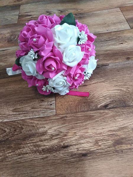 Svatební kytička,