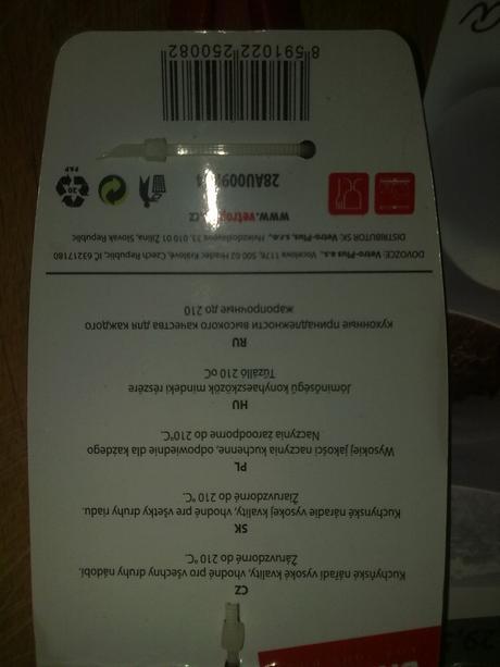 Súprava kuchynského náradia - Banquet - nepoužité,