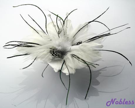 Fascinátor - Ozdoba do vlasů LSH 0061,