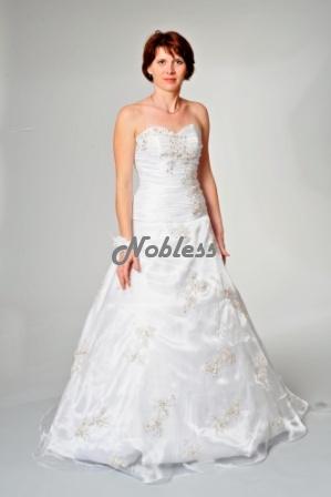 Jednoduché nové svatební šaty Tailor, 36