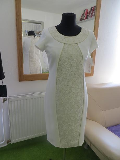 Pouzdrové šaty ke kolenům č. 1436, 36