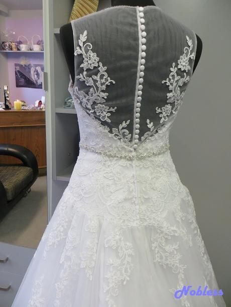Svatební šaty Adélka č. 219 - vel. 38-40, 38