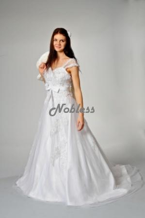 Svatební šaty Aglaya č. 121- výprodej - vel. 34-38, 34