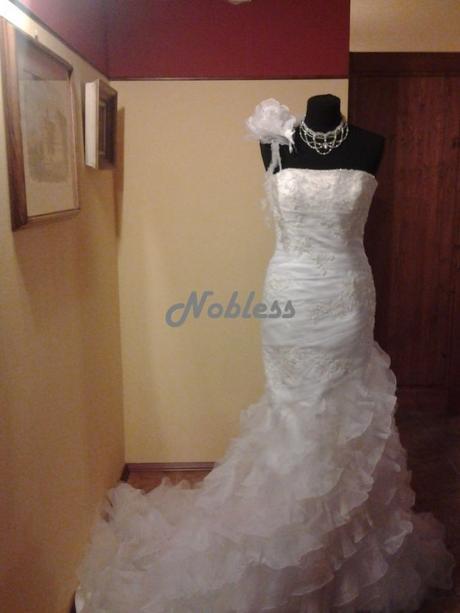 Svatební šaty Babieca - výprodej - vel. 34-38, 38