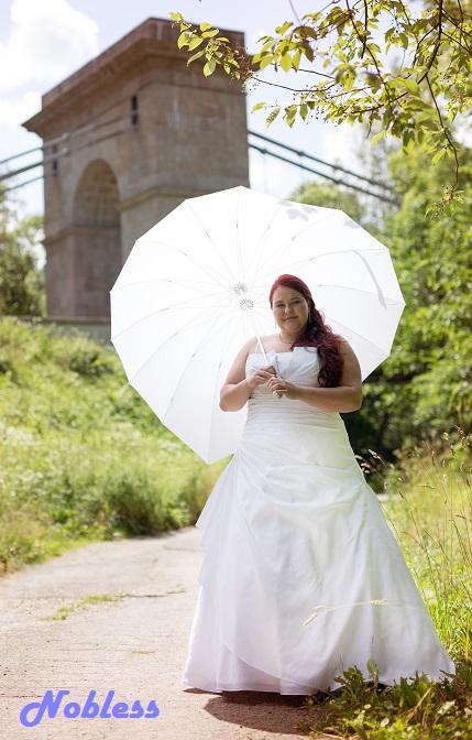 Svatební šaty Bobi č. 217 - vel. 52-56, 56