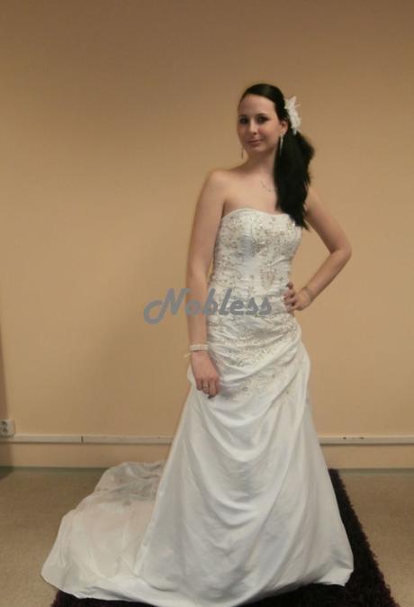 Svatební šaty Dali č. 76 - výprodej - vel. 36-38, 38