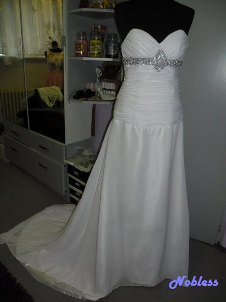 Svatební šaty Deana č. 40 - výprodej - vel. 38-40, 40