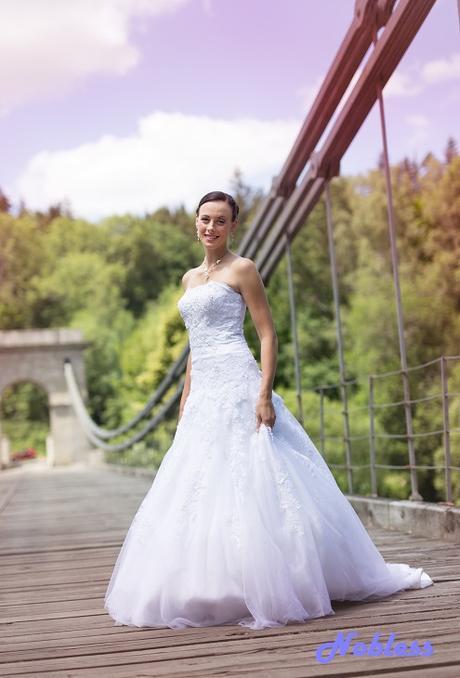 Svatební šaty Diana č. 212 - vel.36-38, 38
