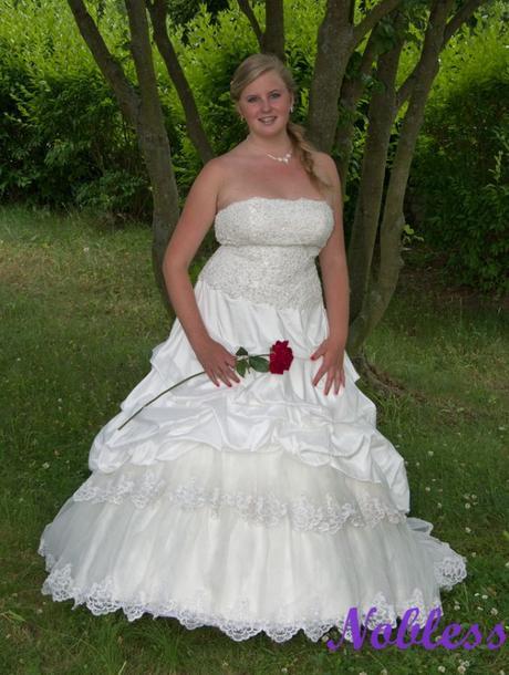 Svatební šaty Katarine č. 60 - výprodej-vel. 40-44, 44