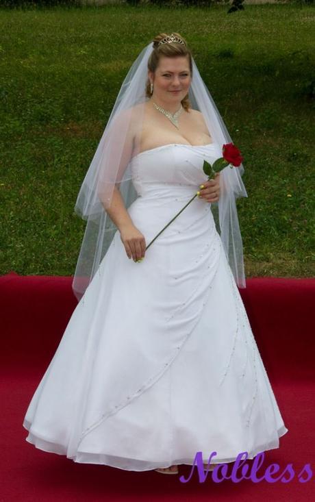 Svatební šaty Korale č. 210 - vel. 42-46, 46