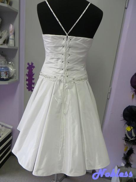 Svatební šaty krátké Maja č. 6 - vel. 38-40, 40