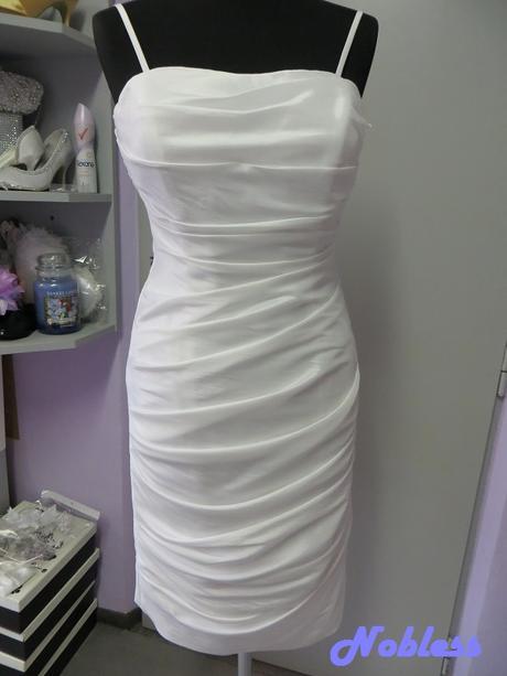 Svatební šaty kratké Sheer č. 7 - vel. 38-40, 40