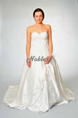 Svatební šaty Lívie č. 93 -výprodej - vel. č.38-42, 42