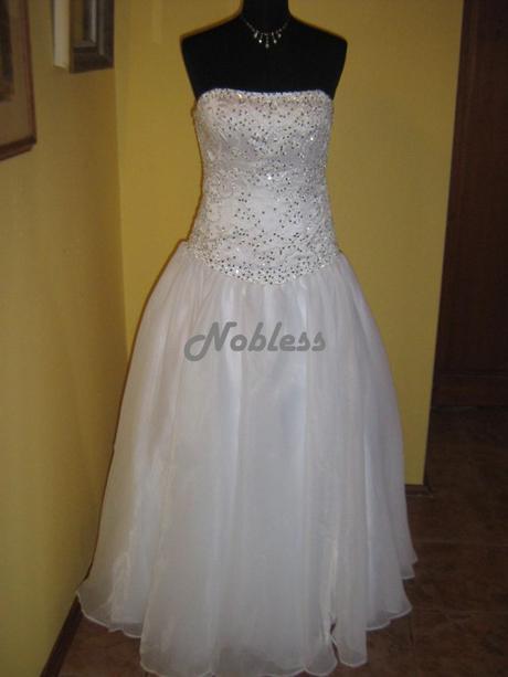 Svatební šaty Marlen č. 61 - výprodej - 36-40, 40