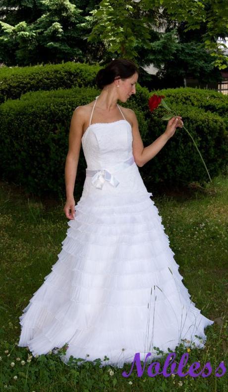 Svatební šaty Michel č. 188 - výprodej -vel. 36-38, 36