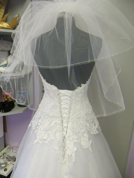 Svatební šaty Nora č. 220 - vel. 38-42, 42
