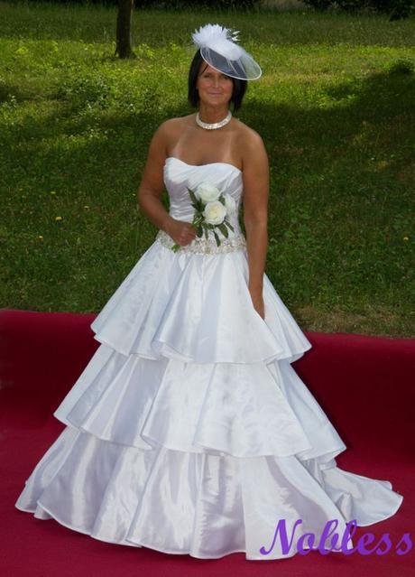 Svatební šaty Plange č. 198 - vel. 36-40, 40