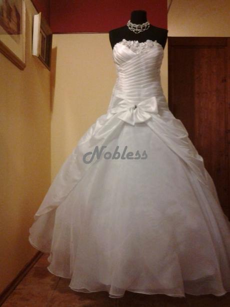 Svatební šaty Shery č. 135 - výprodej - vel. 34-38, 35