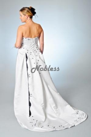 Svatební šaty Simona č. 74 - výprodej - vel.38-44, 44