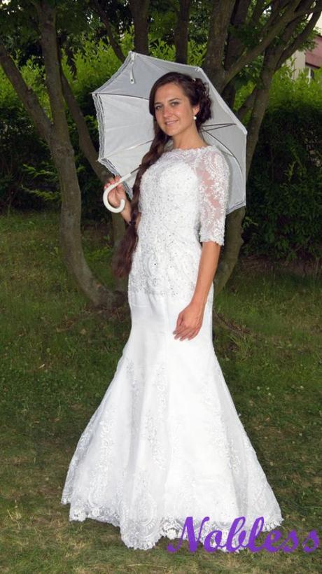 Svatební šaty Tahiti - výprodej - vel. 36-38, 38