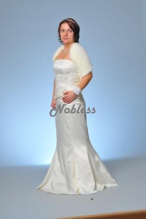 Svatební šaty Tina č. 107 - výprodej - vel. 36-38, 38