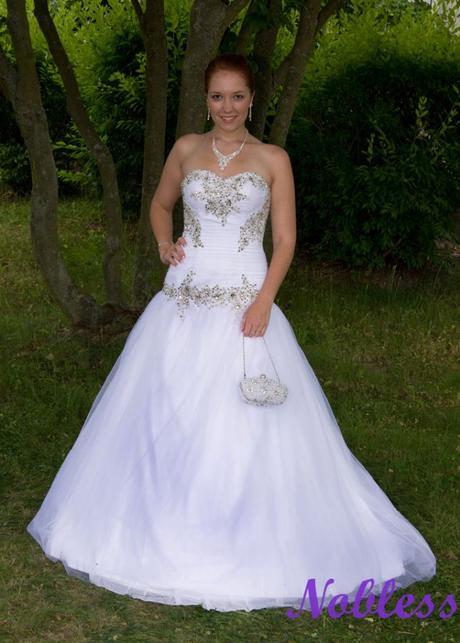 Svatební šaty Tina-Tor č. 200 - vel 40-44, 42