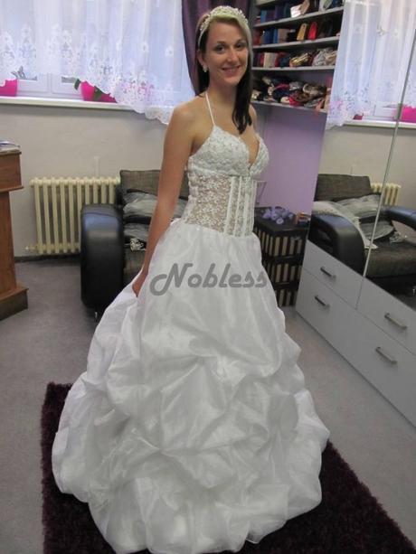 Svatební šaty Zorana č. 79 - výprodej - vel. 38-40, 38
