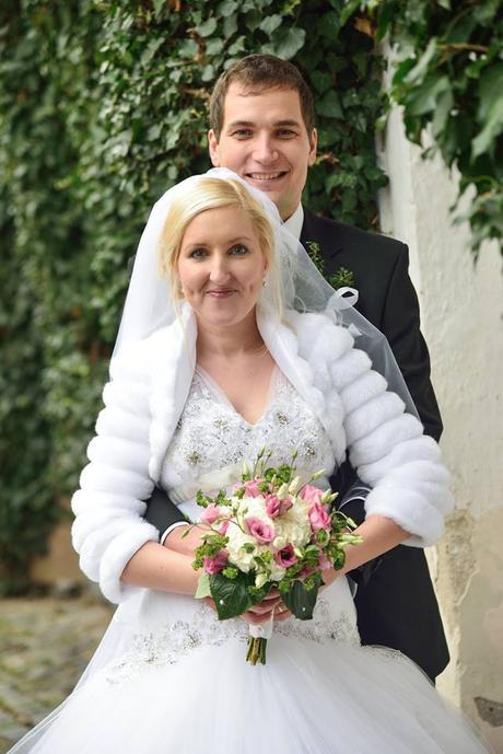 Výjimečné svatební šaty Nicoletta - vel 42-48, 45