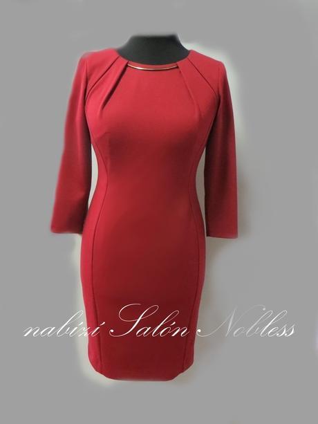 Zeštíhlující pouzdrové šaty Liza, 48