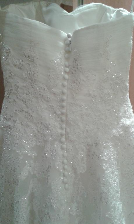 Svadobné šaty zn. Pronovias, 34