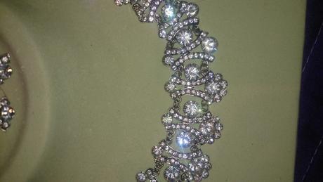 Nádherná sada náhrdelník a náušnice,