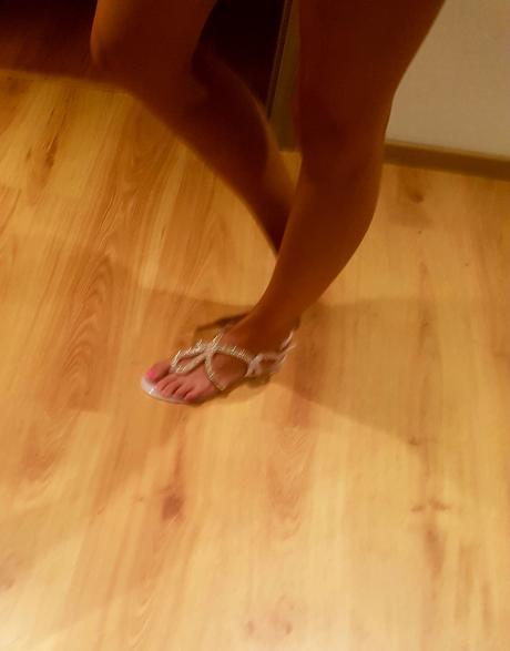 Sandále s kamienkami, 39
