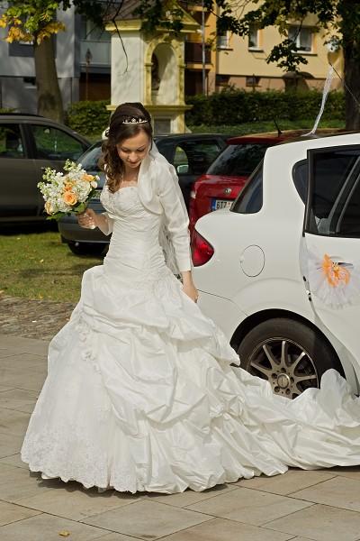 svatební šaty originál Maggie Sottero - Decadence, 36