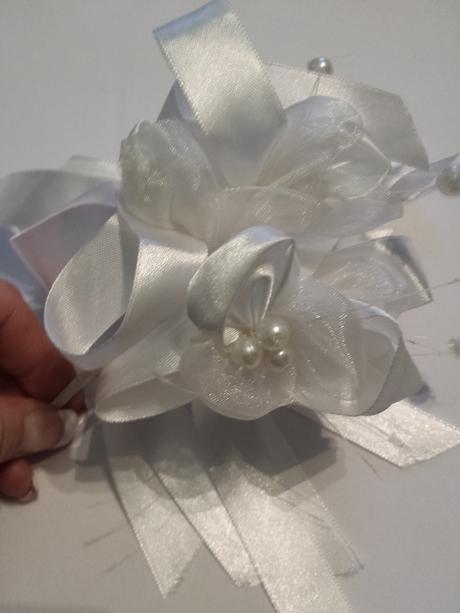 Svatební ozdoba, dekorace, korsáž,