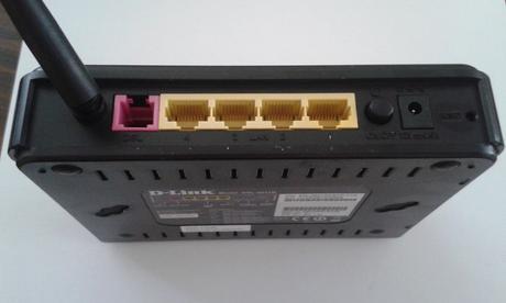 Router D-link  DSL 2641R ,