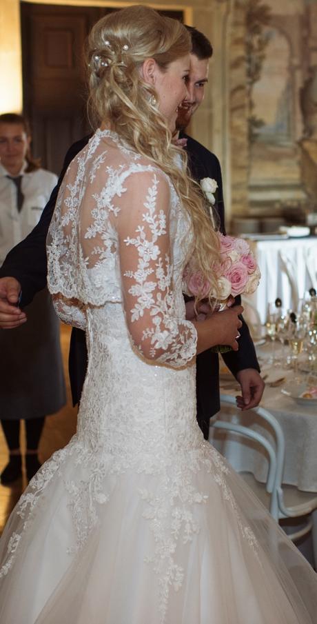 svatební šaty- princezna, 40