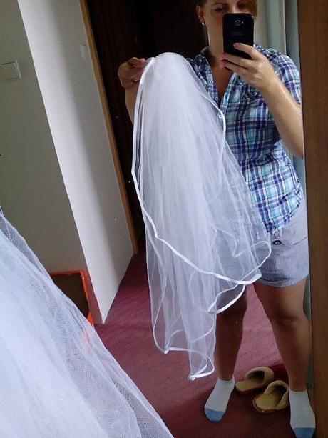 Svatební závoj,