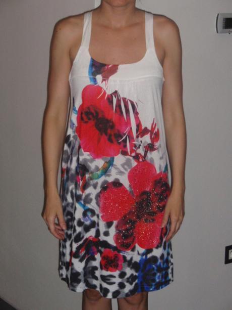 Farebné šaty, S
