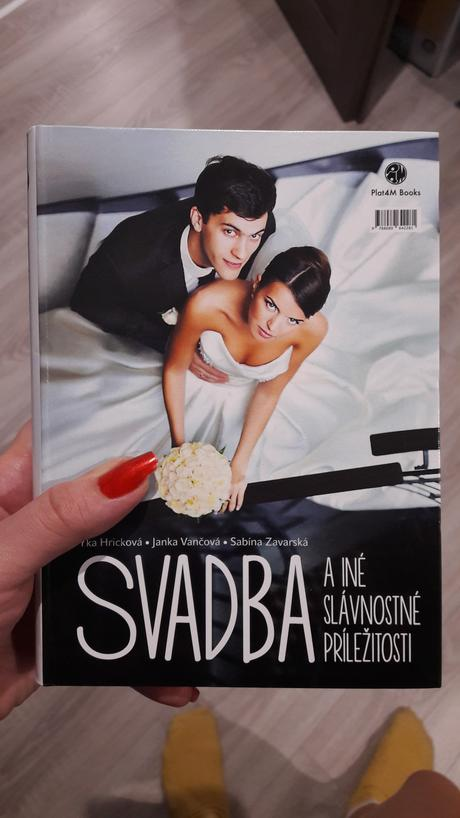 Kniha svadba,