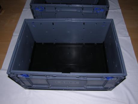 Skladacia stohovacia prepravka bez veka 40x60x32 c,